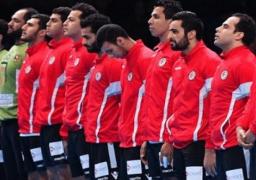 منتخب مصر يواجه اليوم عمالقة الدانمارك فى مونديال اليد