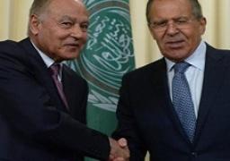 أبو الغيط يبحث مع لافروف تطورات الأوضاع في الشرق الأوسط