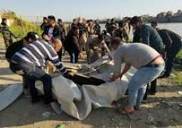 ارتفاع أعداد ضحايا حادثة غرق العبارة في الموصل لـ120 شخصا