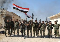 """الجيش السوري يدمر أوكارا وتحصينات لإرهابيي """"النصرة"""" بريف حماة"""