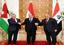 نص البيان الختامى المشترك الصادر عن القمة الثلاثية بين مصر والأردن والعراق