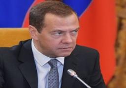 ميدفيديف: القرم ستظل جزءا من روسيا إلى الأبد
