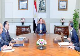 الرئيس السيسي يوجه بتكثيف العمل بخطة التحول إلى الحكومة الرقمية