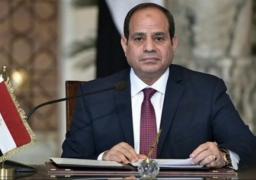 السيسىي يقوم بالموافقة علي اتفاقية بين جمهورية مصر العربية ومجموعة البنك الإسلامي