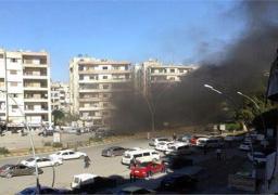 سقوط قذيفتين صاروخيتين وسط مدينة حلب