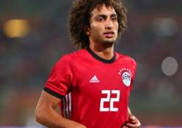 استبعاد عمرو وردة من معسكر المنتخب الوطني