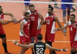 منتخب مصر يفوز على المغرب 3ـ1 في بطولة أفريقيا للكرة الطائرة