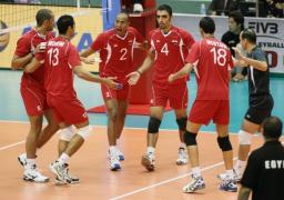 اليوم .. رجال الطائرة يستهلون مشوار البطولة الإفريقية بلقاء المغرب