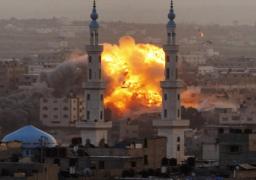 جيش الاحتلال الإسرائيلي يشن سلسلة غارات على قطاع غزة
