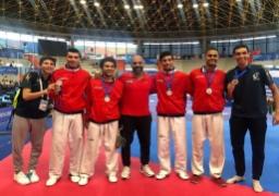 سباحو مصر يحصدون 3 ذهبيات وبرونزية في بطولة العالم للاساتذة