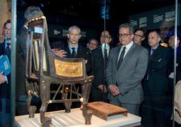 بالصور .. انتهاء معرض توت عنخ آمون في باريس مسجلا رقما قياسيا جديدا