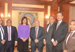 ضمن الترويج لمؤتمر «مصر تستطيع بالاستثمار».. وزيرة الهجرة تلتقي خبراء اقتصاد واستثمار