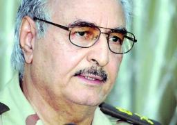 اللواء «حفتر» : لن نتر ك إخوانياً واحداً على أرض ليبيا