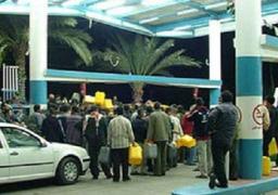 إزدحام بمحطات الوقود بالشرقية للحصول على بنزين 80