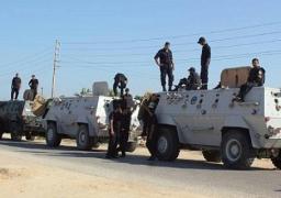 استشهاد ضابطين في هجوم مسلح على طريق العريش/الشيخ زويد