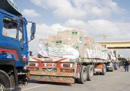 الآلاف يعبرون منفذ رفح.. ومئات الأطنان من المساعدات تدخل غزة