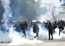 الإخوان يقطعون جسر السويس.. والشرطة تدفع بقوات للتعامل معهم