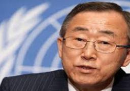 """بان كي مون يدعو الى """"هدنة انسانية"""" في غزة"""
