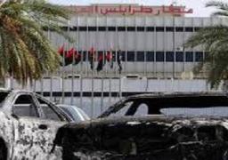 تجدد القصف بمحيط مطار طرابلس وسقوط قذيفتين قرب السفارة الأمريكية
