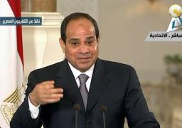 في أول مؤتمر صحفي له.. السيسي: المبادرة المصرية هي الفرصة الحقيقة لإيقاف نزيف الدم في غزة