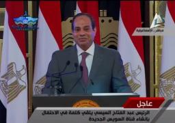 """السيسي: تسهيل جميع الإجراءات للعمال المصريين في ليبيا.. وأقول للإعلاميين: """"خليكو معانا في معركتنا"""""""