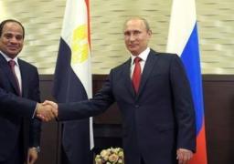 السيسي يتفق مع بوتين على إقامة منطقة صناعية بمشرع قناة السويس