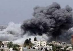 غاره اسرائيلية على ريف العاصمة السورية اسفرت عن مقتل سمير القنطار