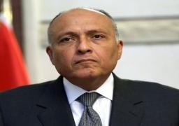 وزير الخارجية يصل تونس للاطمئنان على أوضاع المصريين بالحدود الليبية