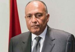 """""""شكرى"""": إجلاء 2500 مصرى عن طريق معبر رأس جدير التونسي"""