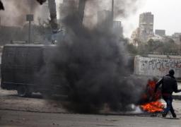 استشهاد ضابط شرطة و5 مجندين فى انفجار مدرعة بشمال سيناء