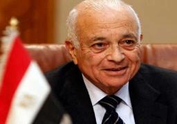 """نبيل العربي يلتقي بالرئيس العراقي علي هامش مؤتمر""""باريس الدولي"""""""