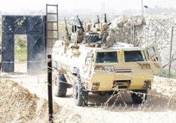 حرس الحدود تدمر 7 أنفاق برفح وتضبط 4 عصابات تهريب بالقرب من سيوة