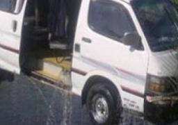 إصابة 17 في حادث انقلاب سيارة داخل ترعة بسوهاج