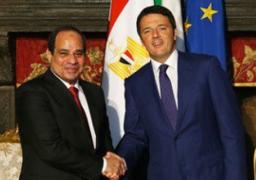 نائب وزير التجارة الإيطالى: زيارة السيسى توثيق جديد للعلاقات المصرية الإيطالية