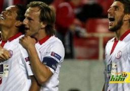 اشبيلية حامل اللقب يتأهل مع ختام دور المجموعات في الدوري الاوروبي