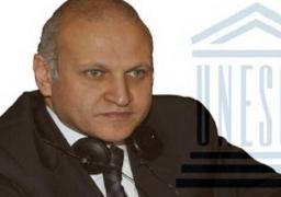 """سفير مصر باليونسكو يبحث إجراءات الانتهاء من""""متحف الحضارة """""""