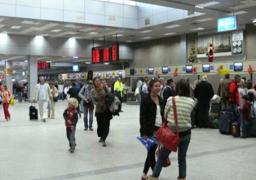 مطار الغردقة يستقبل 12 ألف سائح اليوم على متن 65 رحلة طيران