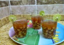 """فوائد وطريقة عمل مشروب حمص الشام """" الحلبسة """" في المنزل للتدفئة في الشتاء"""