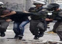 قوات إسرائيلية تعتقل 8 فلسطينيين بالقدس