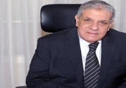 """""""محلب"""" يلتقى وزير الدولة الإماراتى بمقر مجلس الوزراء"""