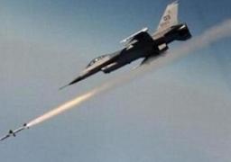 طائرات التحالف العربى تقصف معسكرا للصواريخ شرقي صنعاء