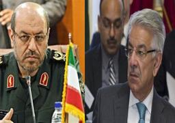 وزيرا دفاع إيران وباكستان يؤكدان أهمية تعزيز الأمن على حدود بلديهما