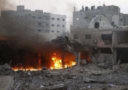 غارة إسرائيلية على موقع لحماس في قطاع غزة