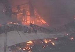 انفجار محدود بموقع كارثة مستودع الكيماويات فى تيانجين الصينية
