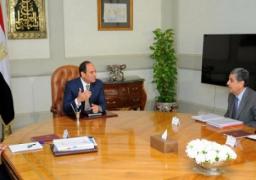 السيسي يبحث إنشاء مدينة متكاملة للأثاث في دمياط على مساحة ٣٣١ فدانا
