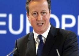 """كاميرون: مسلحو """"داعش"""" يخططون لهجمات مروعة في بريطانيا"""