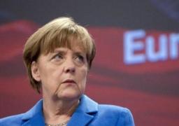 ميركل عن أزمة اليونان: أوروبا لا يمكن أن ترضخ