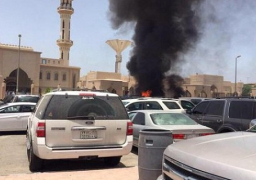 السعودية : استشهاد 17 رجل امن اثر تفجير ارهابى بمسجد قوات الطوارىء بابها