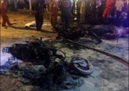 ارتفاع عدد ضحايا تفجير بانكوك إلى 27 قتيلًا بينهم 4 أجانب