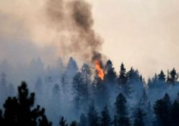 سحب الدخان تغطي سماء واشنطن.. وحرائق الغابات تمتد إلى شيلان